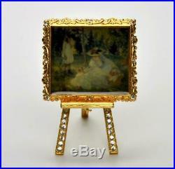 RARE2002 Estee Lauder BEAUTIFUL WEEKEND ARTIST Solid Perfume Compact IN BOX