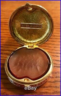 Rare Estee Lauder Imperial Princess Solid Perfume Compact