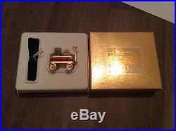 Rare Vintage Estee Lauder RED TOY WAGON PLEASURES Solid perfume Compact abc bear
