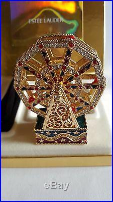 Swarovski, Estee Lauder Ferris Wheel, Perfume Creme Compact