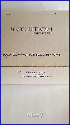 Swarovski, Estee Lauder Violin in Stand, Perfume Creme Compact